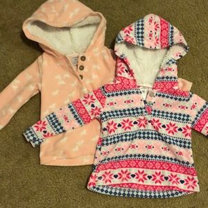 Carter's Shirts & Tops - ❗️BOGO 1/2 off ❗️two 18 mo fleece pullover hoodies